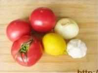 西班牙番茄冷湯的做法圖解1
