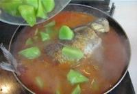 鯽魚燉萵苣的做法圖解10