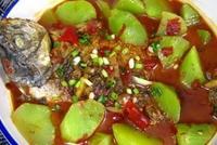 鯽魚燉萵苣的做法圖解13