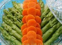素拌蘆筍的做法圖解3