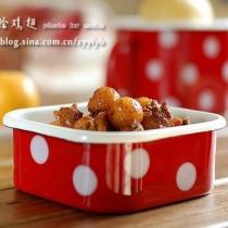 梨球燴雞翅的做法