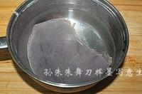 醬豬肝拌菠菜的做法圖解1