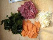 牛肉海帶湯的做法圖解1