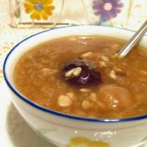 桂圓紅棗小麥粥