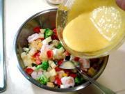 鮮蝦果蔬沙拉的做法圖解10