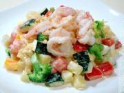 鮮蝦果蔬沙拉的做法圖解11