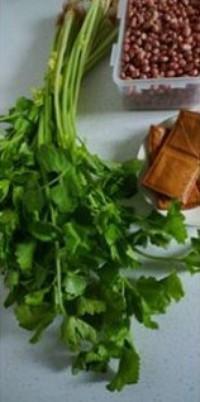 芹葉豆乾拌三分鐘油酥花生的做法圖解6