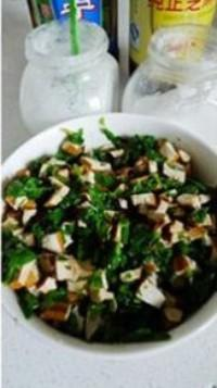 芹葉豆乾拌三分鐘油酥花生的做法圖解12