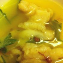 花椒龍利魚湯