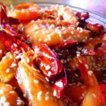 香辣蝦的做法