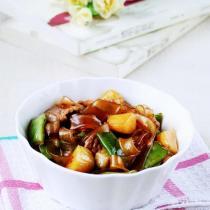 豆角土豆燉寬粉的做法