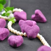 心形紫薯餅的做法