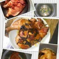 電鍋烤雞(懶人菜)的做法