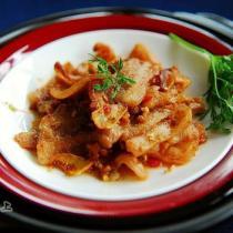 蝦醬生煎五花肉的做法