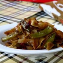 扁豆燜麵的做法