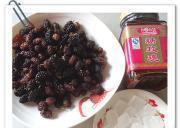 玫瑰桑葚醬的做法圖解1
