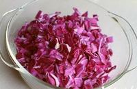 嫣紫玫瑰蘿卜花的做法圖解1