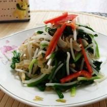 韭香豆芽拌海蜇絲的做法