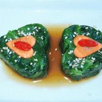心相印菠菜的做法