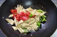 腐竹燒茄子的做法圖解7