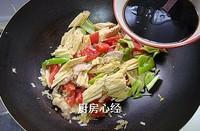 腐竹燒茄子的做法圖解8