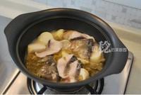 泡菜芋兒魚頭煲的做法圖解10