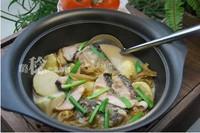 泡菜芋兒魚頭煲的做法圖解11