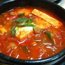 韓式吞拿魚泡菜湯