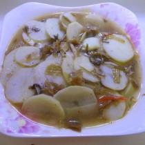 醃菜洋芋湯