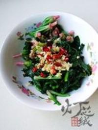 花生拌紅根菠菜的做法圖解10
