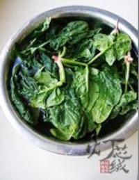花生拌紅根菠菜的做法圖解3