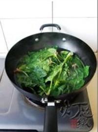 花生拌紅根菠菜的做法圖解4