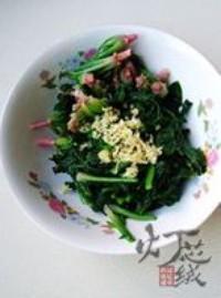 花生拌紅根菠菜的做法圖解8