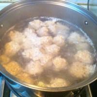 糖醋丸子(非油炸加蔬菜版)的做法圖解2