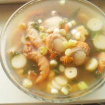 扇貝海鮮湯