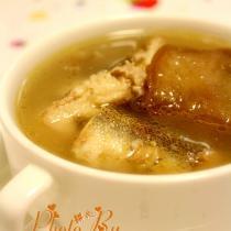 淡甲魚菜脯湯