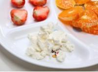 羊奶酪拌菊苣的做法圖解3