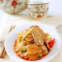 泡菜炒牛肉的做法