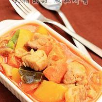 泰式紅咖喱雞的做法