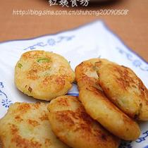 香煎土豆蝦仁餅的做法