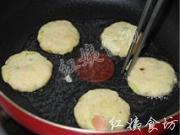 香煎土豆蝦仁餅的做法圖解13