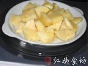 香煎土豆蝦仁餅的做法圖解2