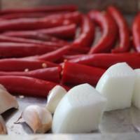 熱情的辣椒(開胃,美白)的做法圖解1