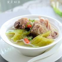 涼瓜排骨湯的做法