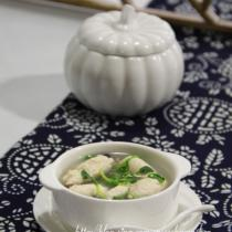 翡翠芙蓉雞片湯的做法