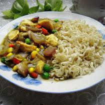咖喱魚丸麵