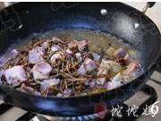 臘仔雞燒乾豆角的做法圖解6