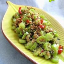 欖菜剁椒四季豆