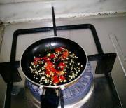 拌蓬蒿菜的做法圖解4
