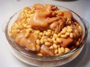 黃豆燉豬蹄的做法圖解11